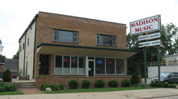 Megatone Studios, located in the Madison Music building in Madison.